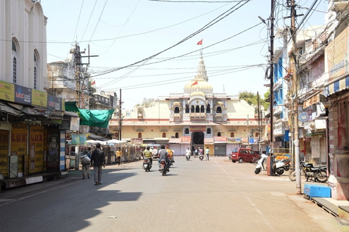 Ujjain: City goes deserted amid lockdown on virus scare