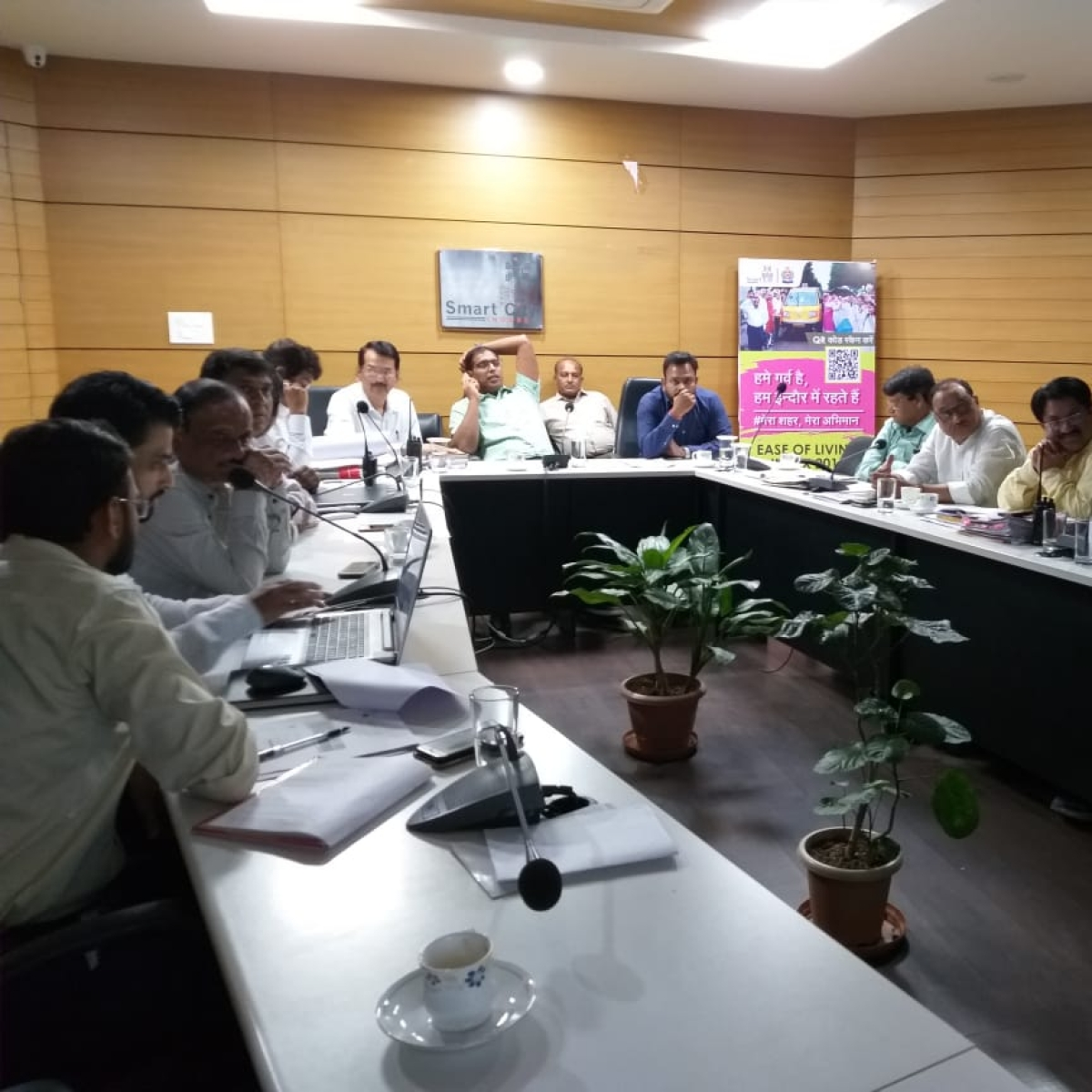 Indore Municipal Corporation amnesty scheme for illegal construction