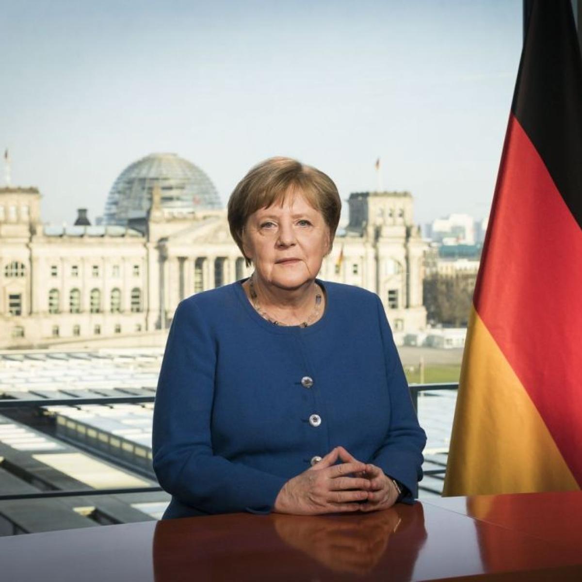 German Chancellor Angela Merkel tests negative for coronavirus for third time