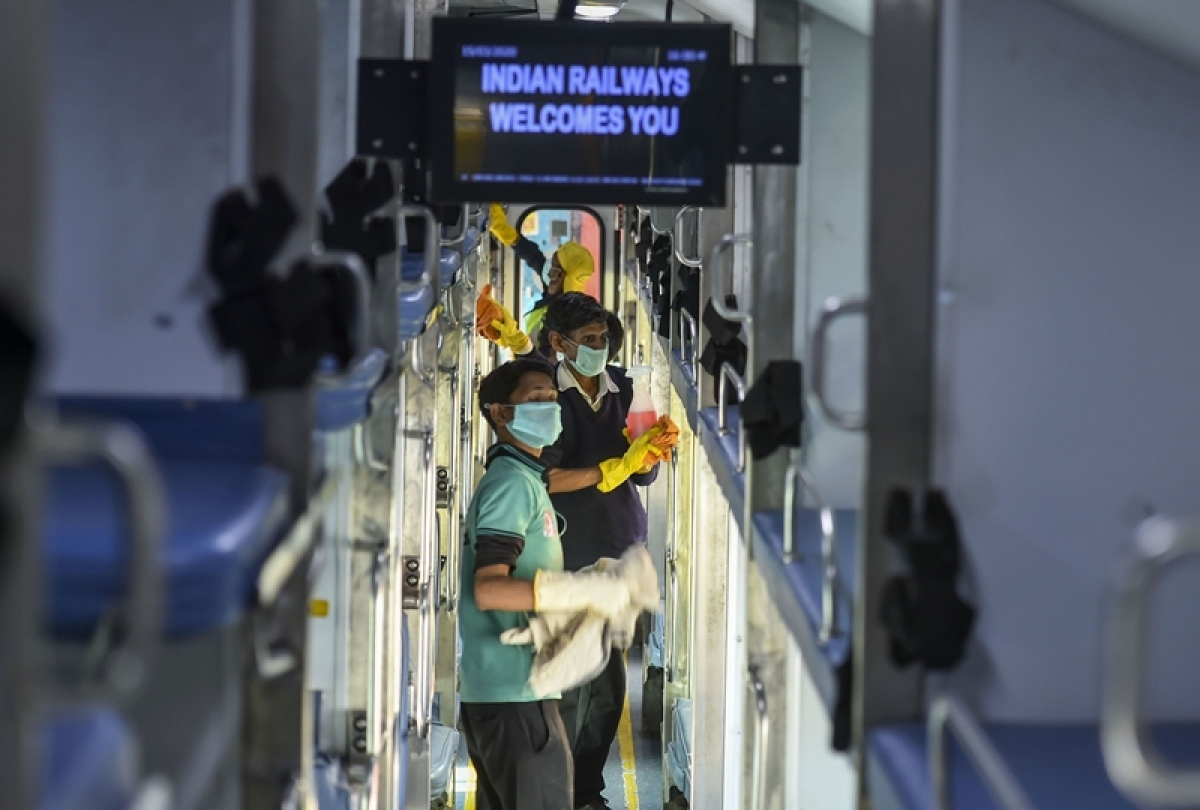 Latest coronavirus update: Indian Railways start thermal screening of passengers in running train
