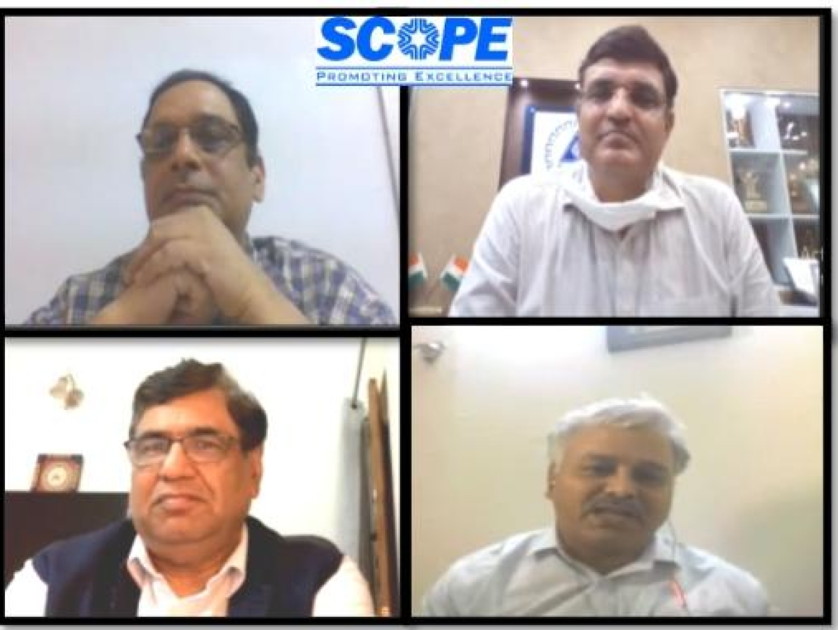 SCOPE holds interactive webinar with Ministry of Corporate Affairs on Business Continuity measures