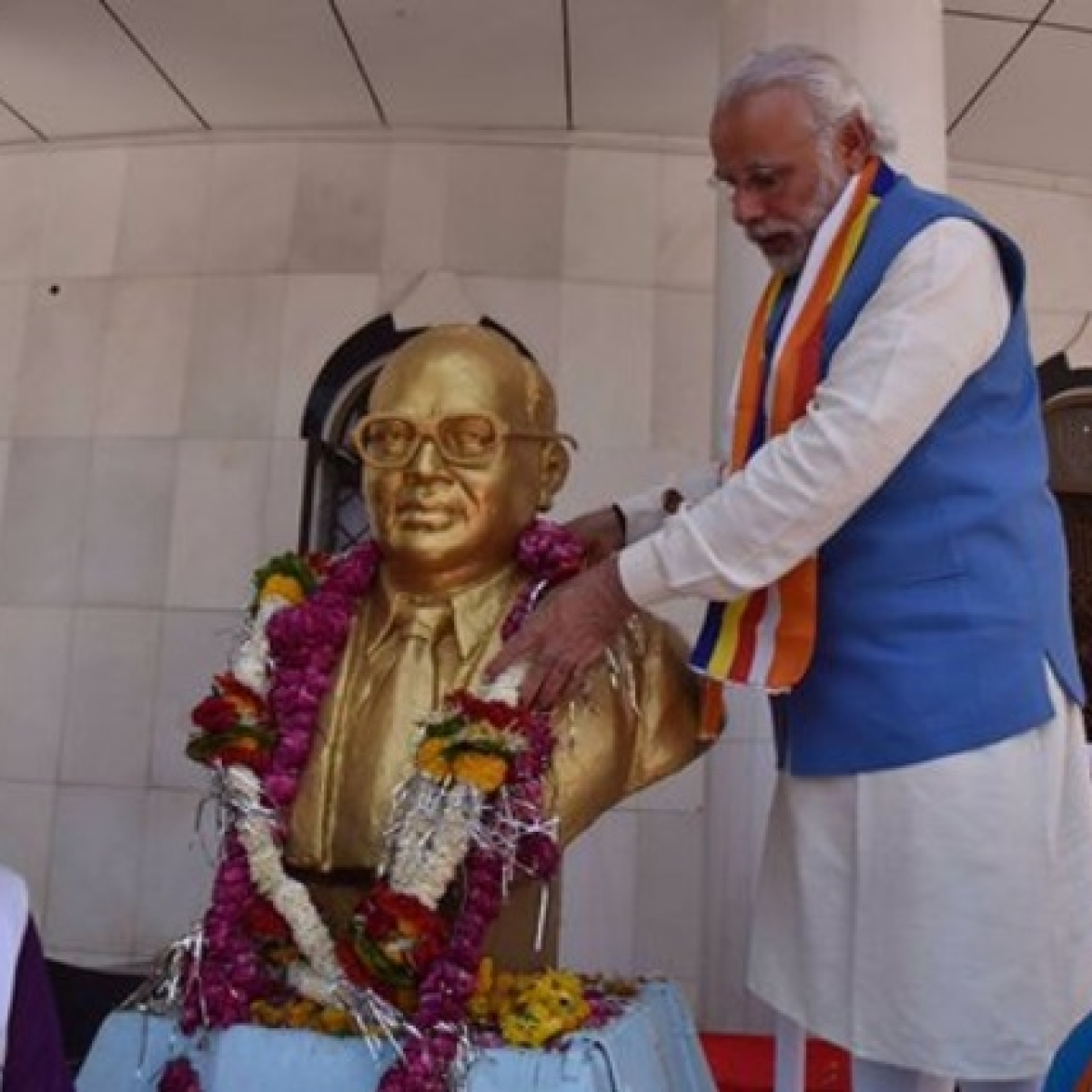President Ram Nath Kovind, PM Modi and other leaders pay tributes to Babasaheb Ambedkar on his 129th birth anniversary