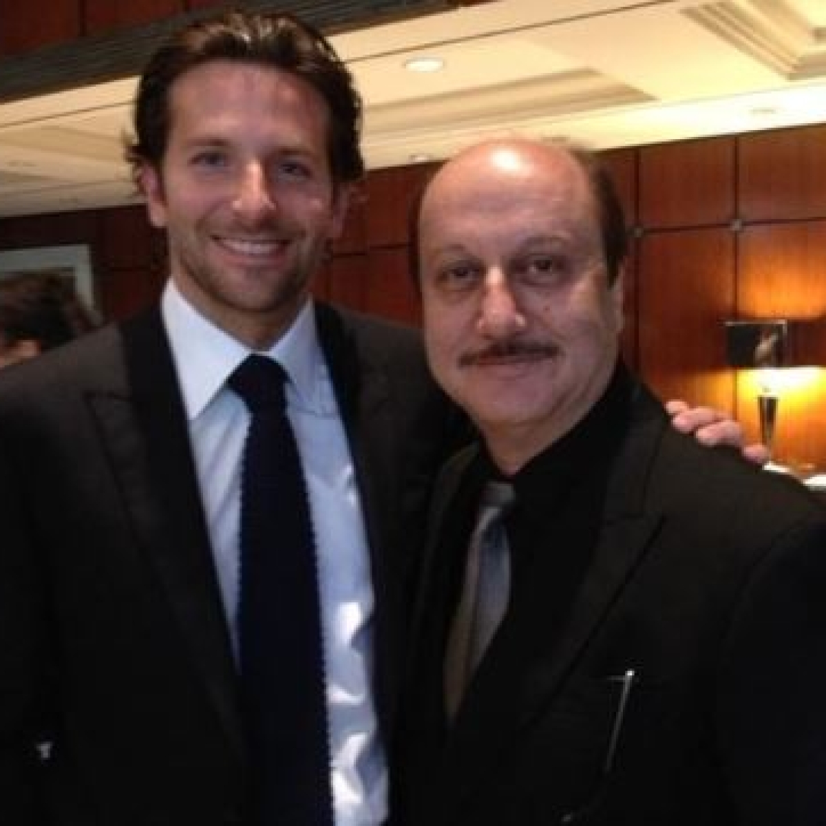 Anupam Kher, Bradley Cooper's never-seen-before throwback video is taking the internet by storm