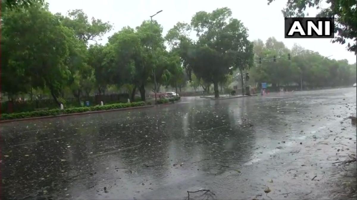 Delhi Weather Update: Heavy rain, hail lashes parts of national capital; netizens share visuals