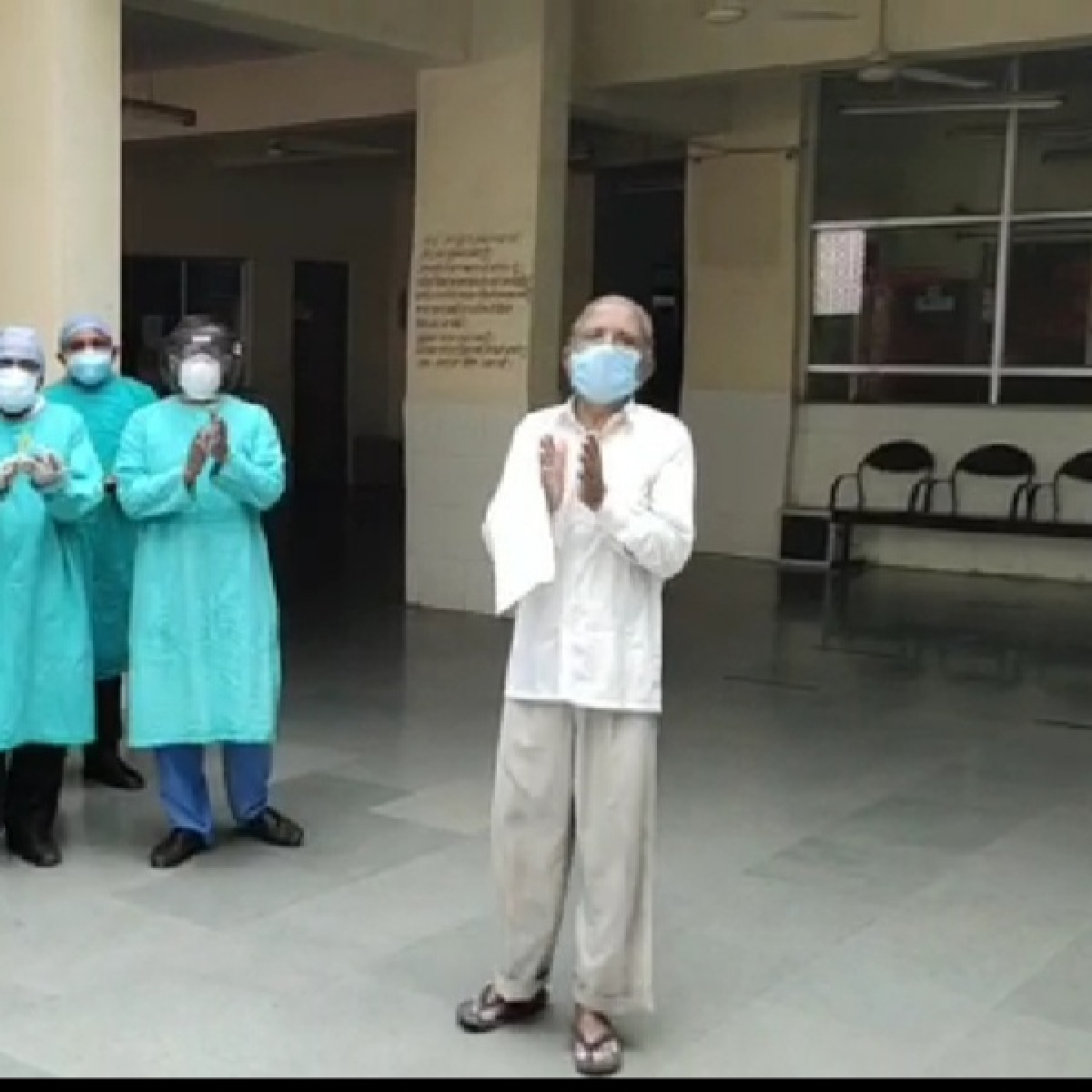 Indore: 74 year old man defeats coronavirus in MRTB, 47 people discharged from other hospitals
