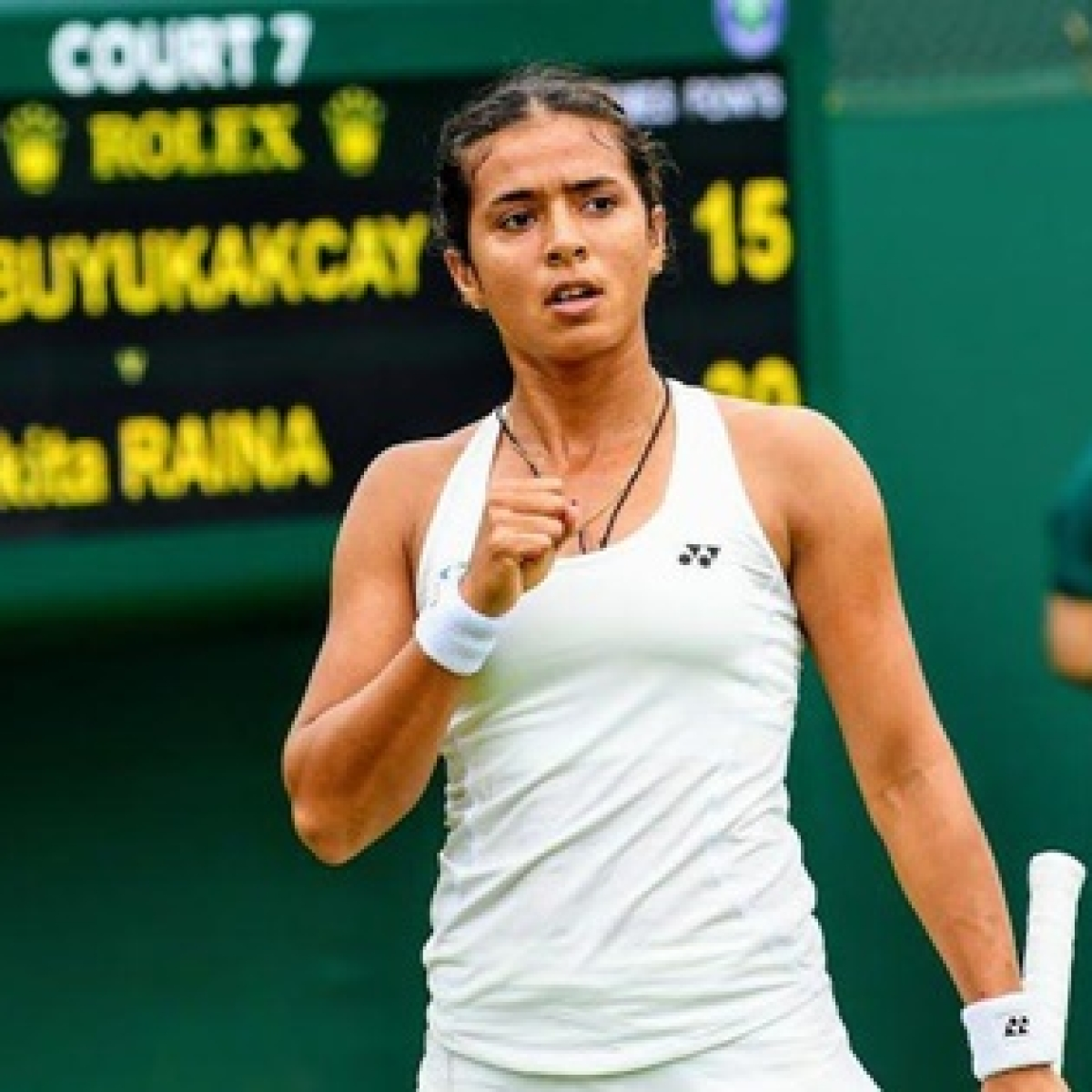 Wimbledon: Down but not out, Ankita Raina's dreams but she's being a good sport about it