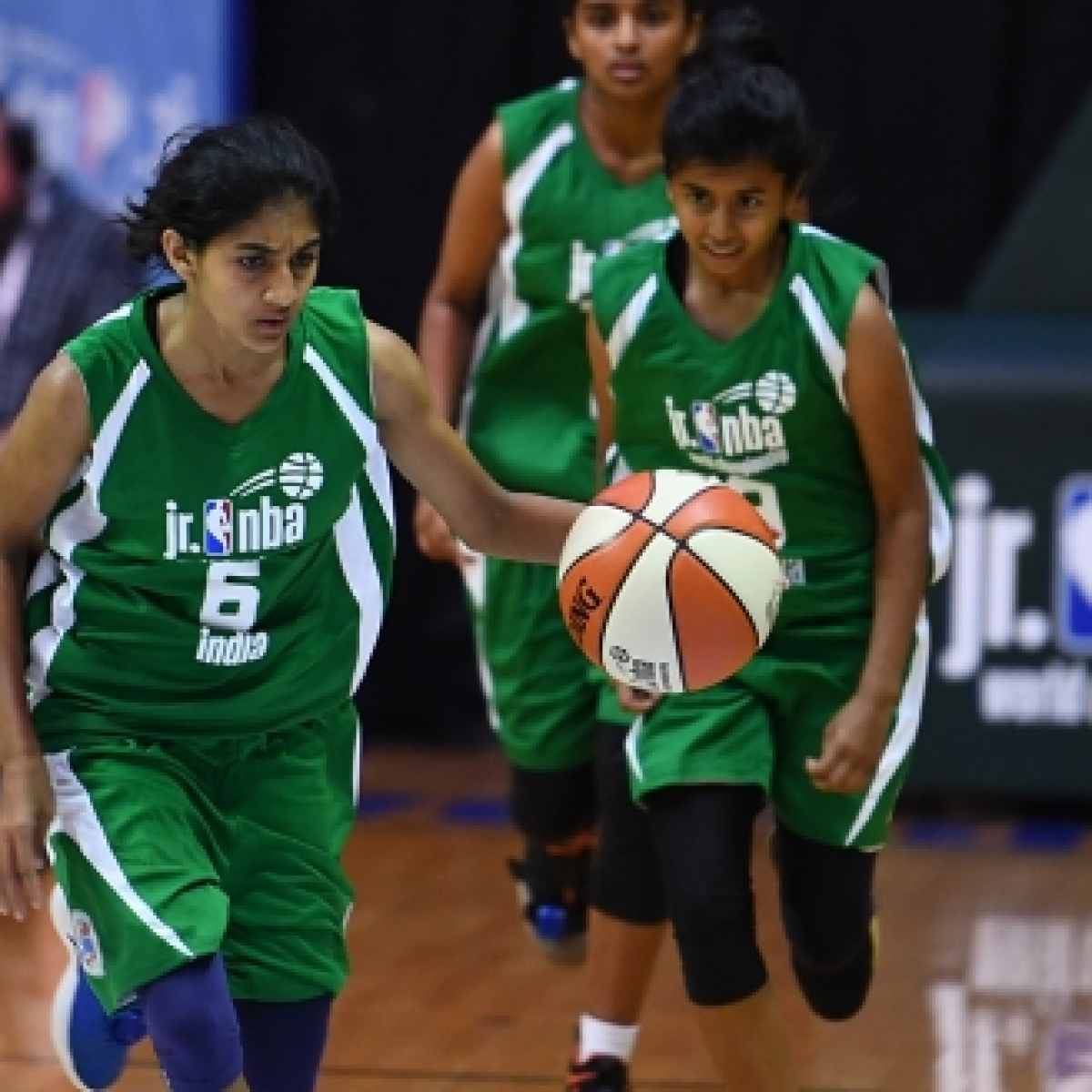 Watch: India's Jr. NBA Global Championship girls show off their 'ball' skills amid coronavirus crisis