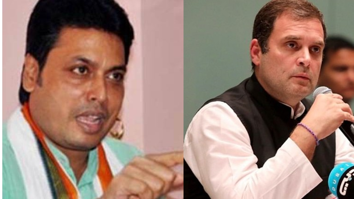 'Took him 18 hours to understand...': Biplab Deb wonders if Rahul Gandhi is 'PM material'