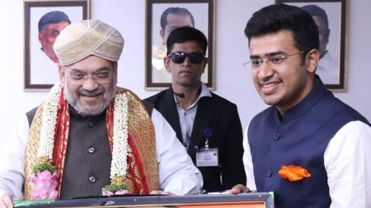 Tejasvi Surya's old tweet on 'Arab women not having orgasm' comes back to bite him