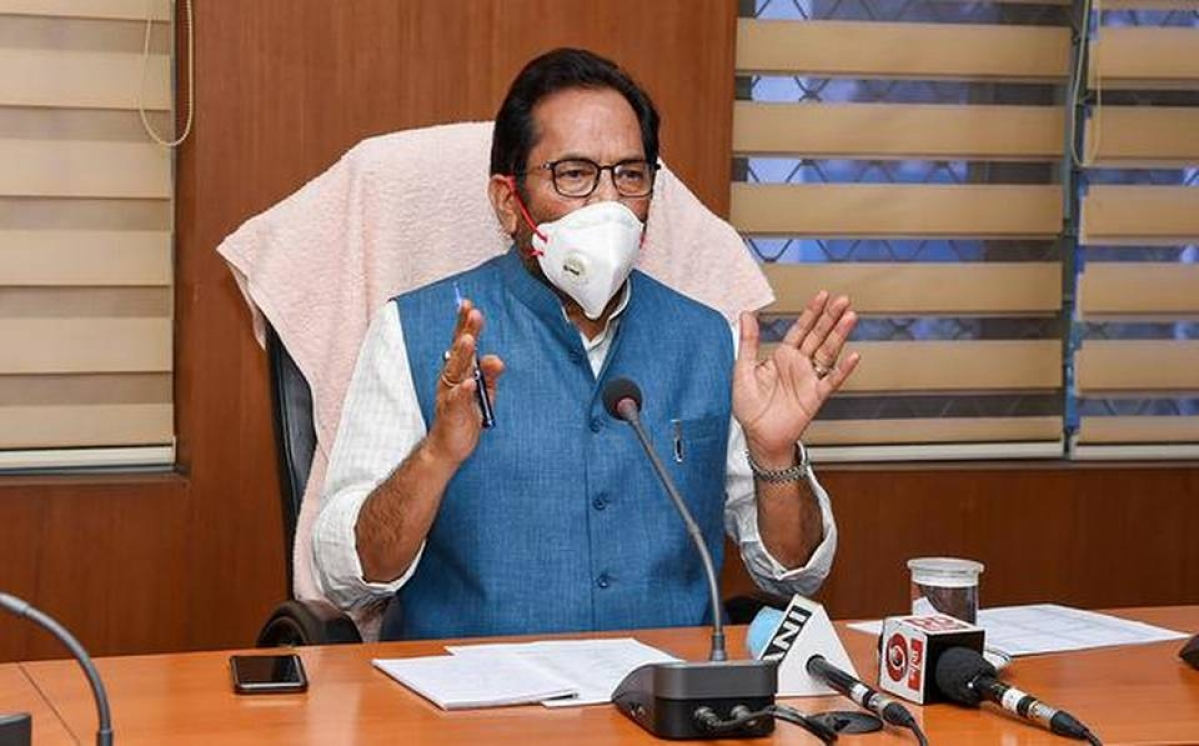Even as Modi bats for religious harmony, Naqvi claims it's a 'well-planned dirty Tablighi conspiracy'