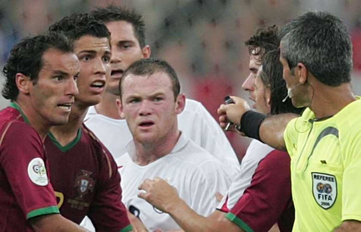 Wayne Rooney said recently that his lowest point came in the 2006 World Cup quarter-final game against Portugal, where he was sent off.