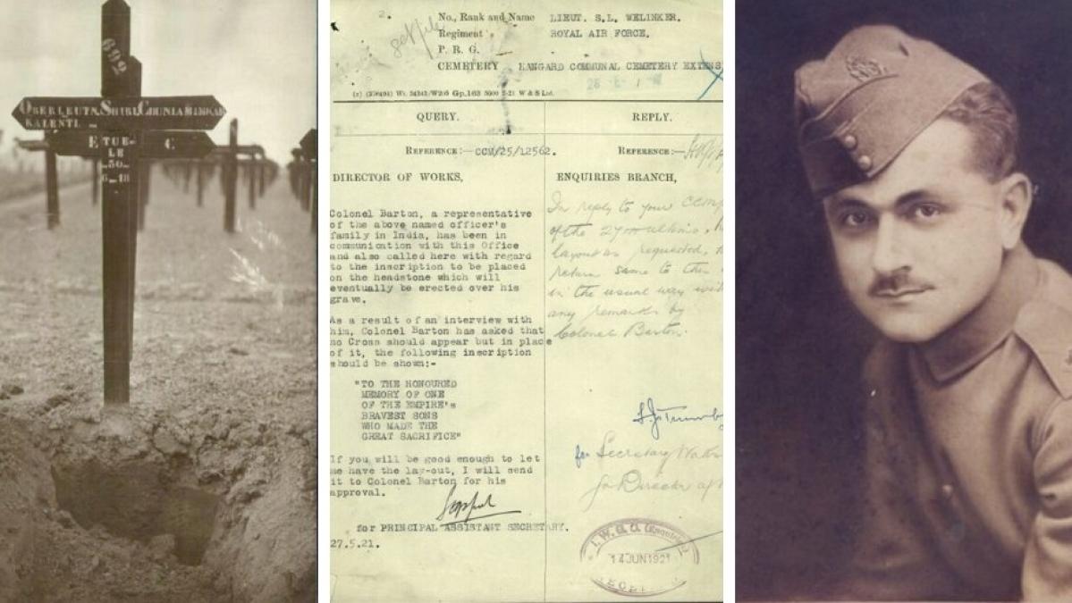 First World War Diaries: UK release story of Indian fighter pilot Lieutenant Welinkar