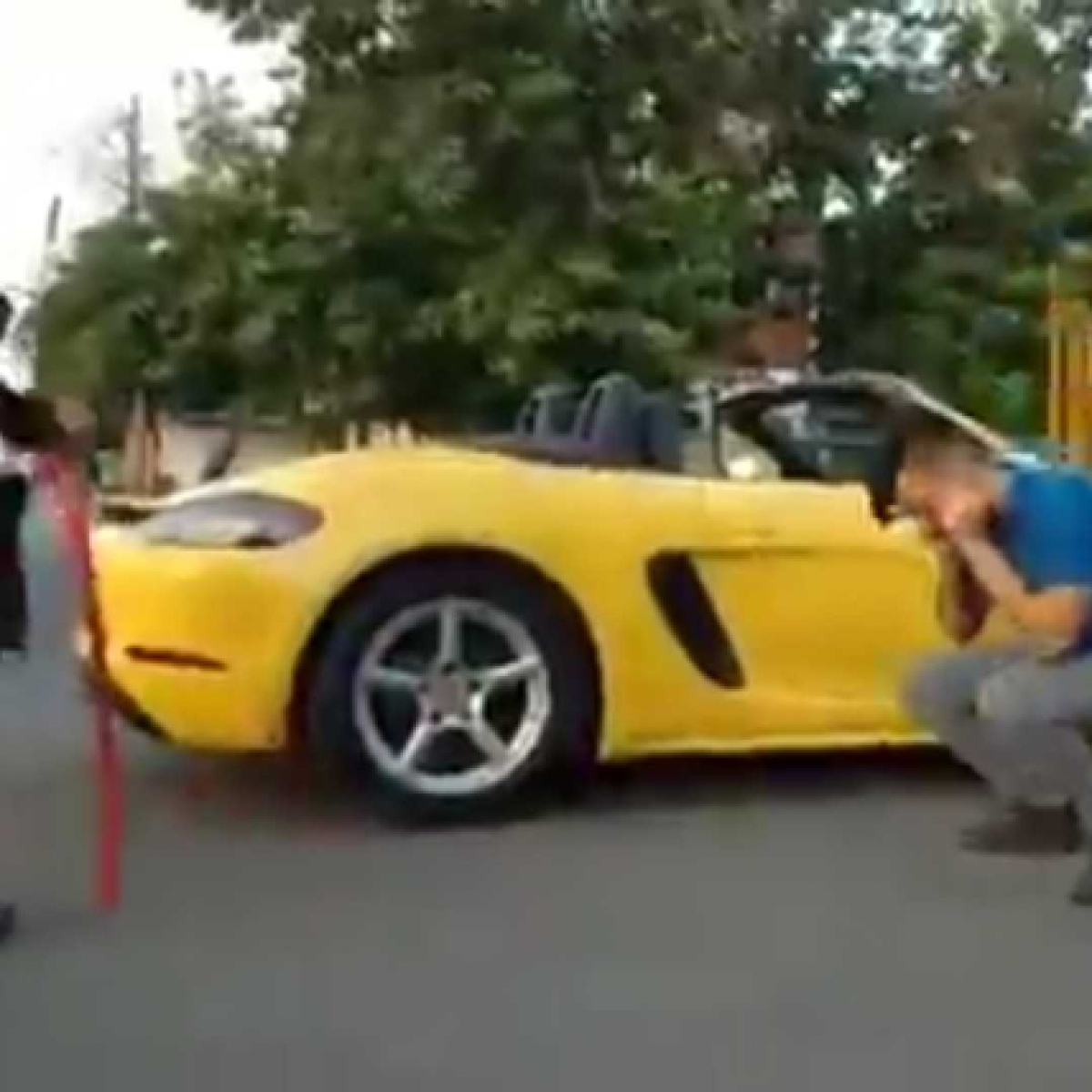 Indore man's Porsche ride ends in vain after security officials charge him with sit-ups for violating lockdown rules