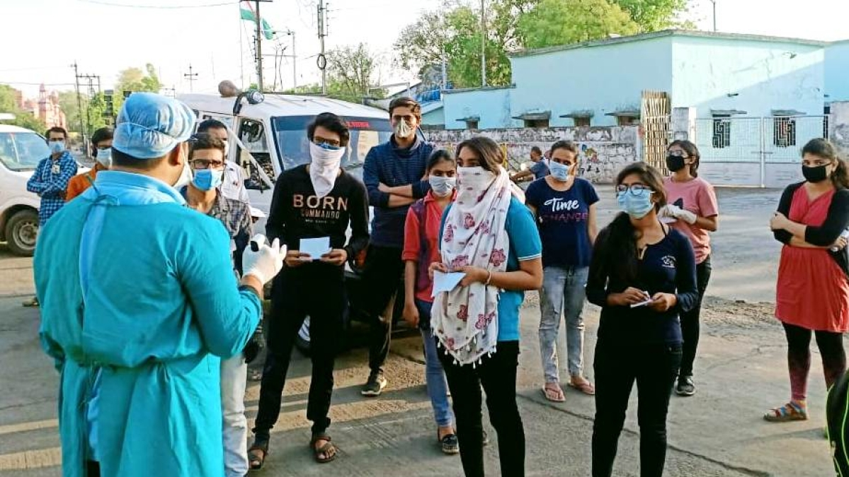 Students examined in Khandwa/ Represenatative pic
