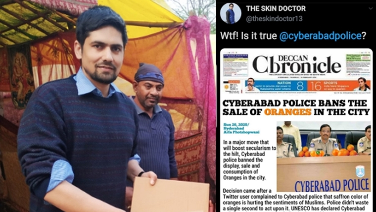 #WeStandWithSkinDoctor trends after Cyberabad police register FIR against Retd Major Neelam Singh over 'satirical' post