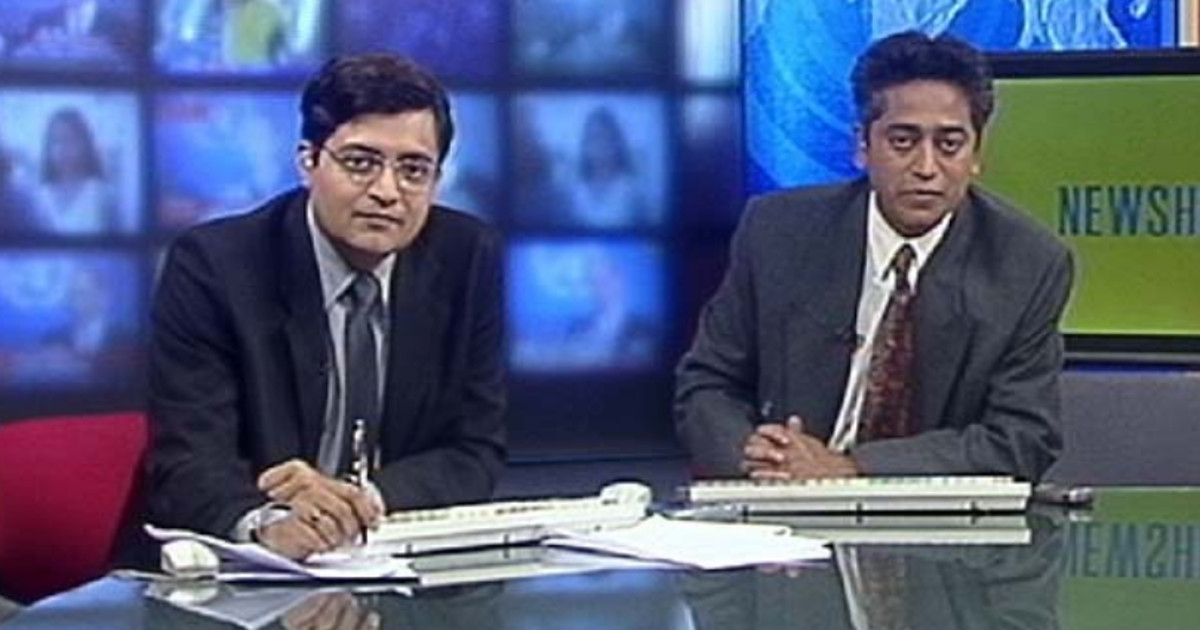 When Rajdeep Sardesai accused Arnab Goswami of faking car attack during Gujarat riots 2002