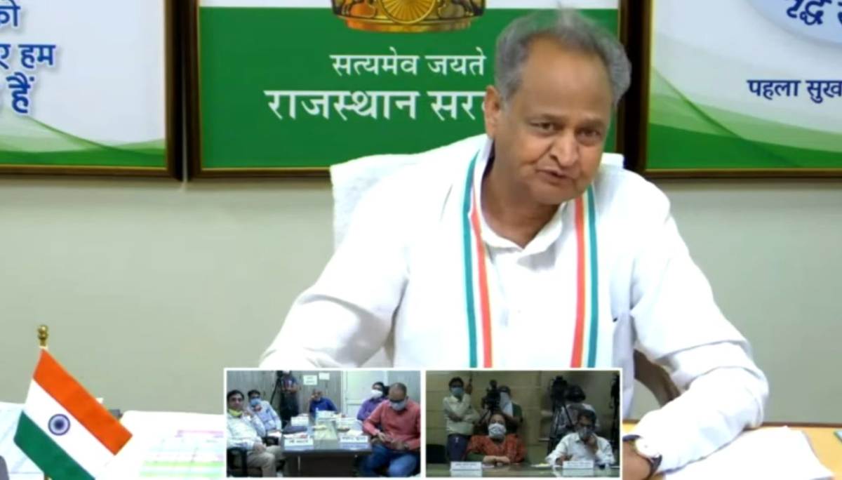 Watch: Ashok Gehlot says Rajasthan will flatten the curve, dodges question on Tablighi Jamaat