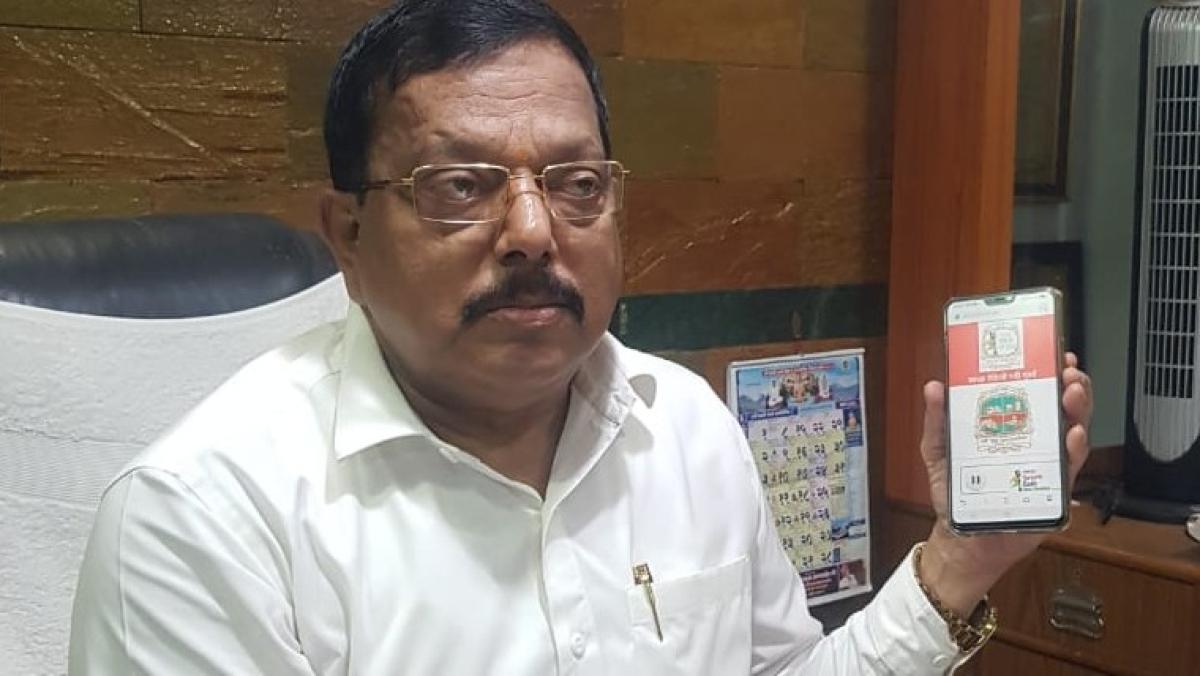 Navi Mumbai Mayor Jaywant Sutar