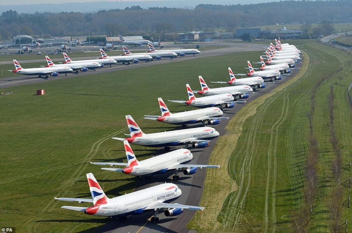 COVID-19: British Airways to suspend 36,000 staff