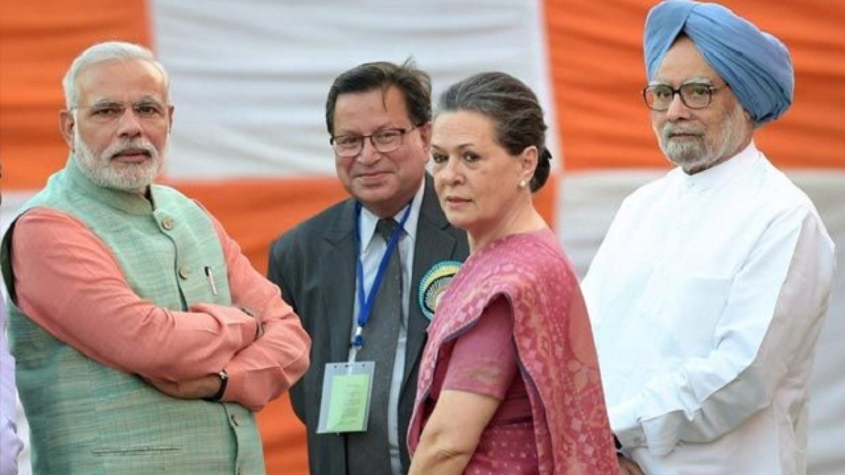 PM Modi and Sonia Gandhi
