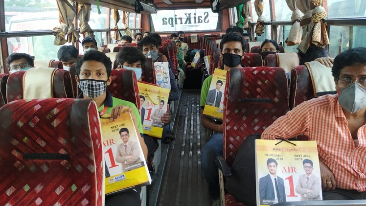 Coronavirus lockdown: 2,300 West Bengal students stranded in Rajasthan's Kota board buses