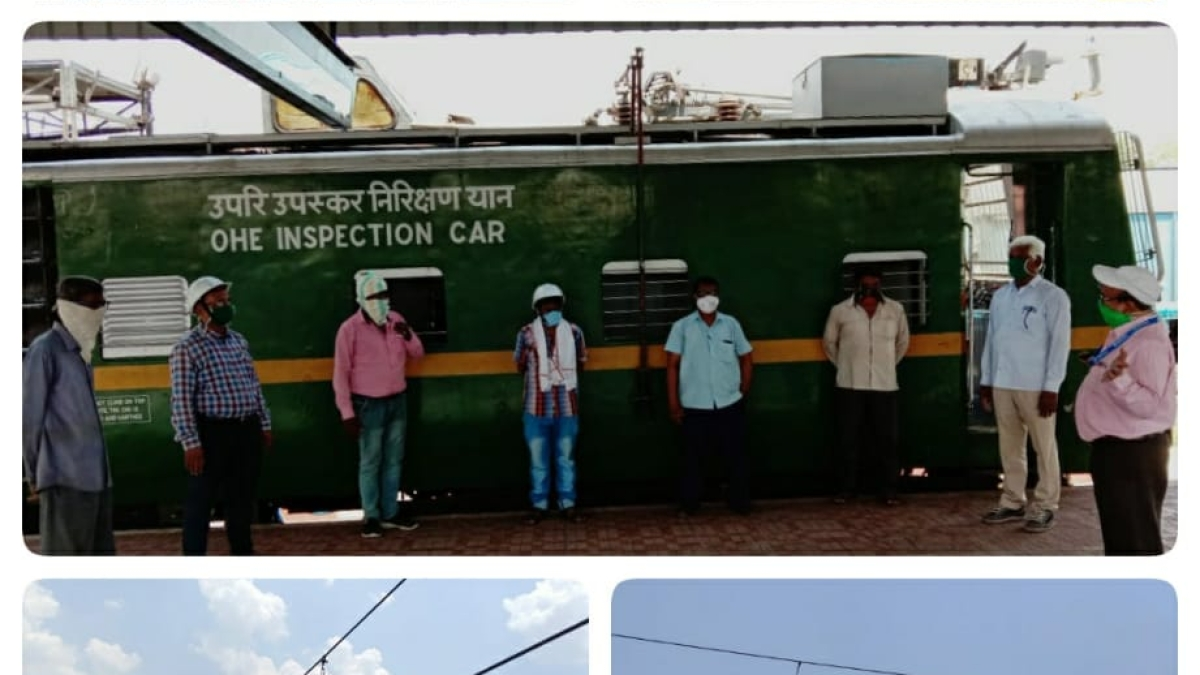 Central Rly's silent warriors during Covid19 pandemic: Electrical Department