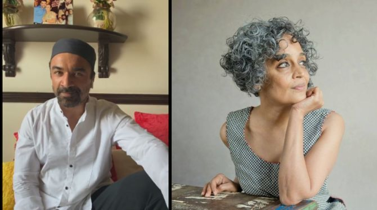 Ashoke Pandit demands arrest of 'virus' Arundhati Roy, calls her 'sophisticated' Ajaz Khan