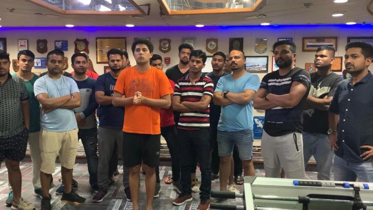 146 Indian crew aboard ship close to Mumbai coast