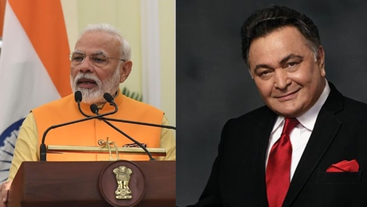 Rishi Kapoor death: PM Narendra Modi anguished by demise of the 'powerhouse of talent'