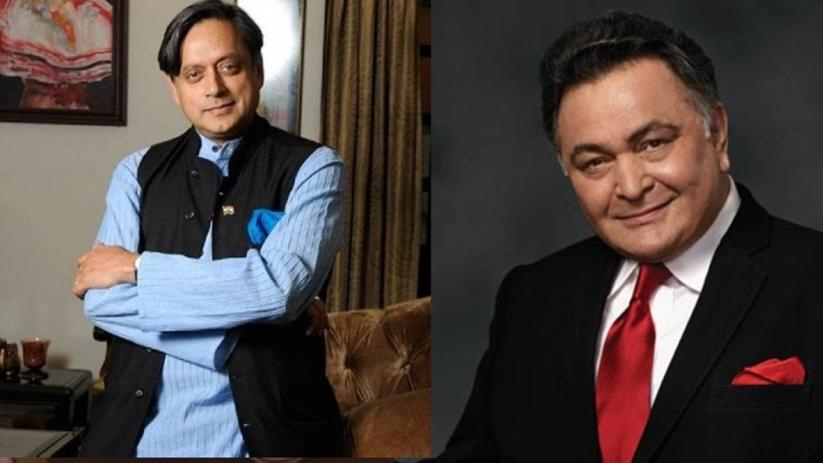 'Inter-class dramatics': Did you know Rishi Kapoor and Shashi Tharoor were in the same school?