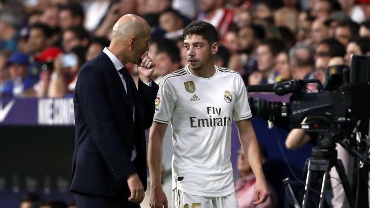 Uruguayan midfielder Federico Valverde credits legend Zinedine Zidane for helping him flourish at Real Madrid