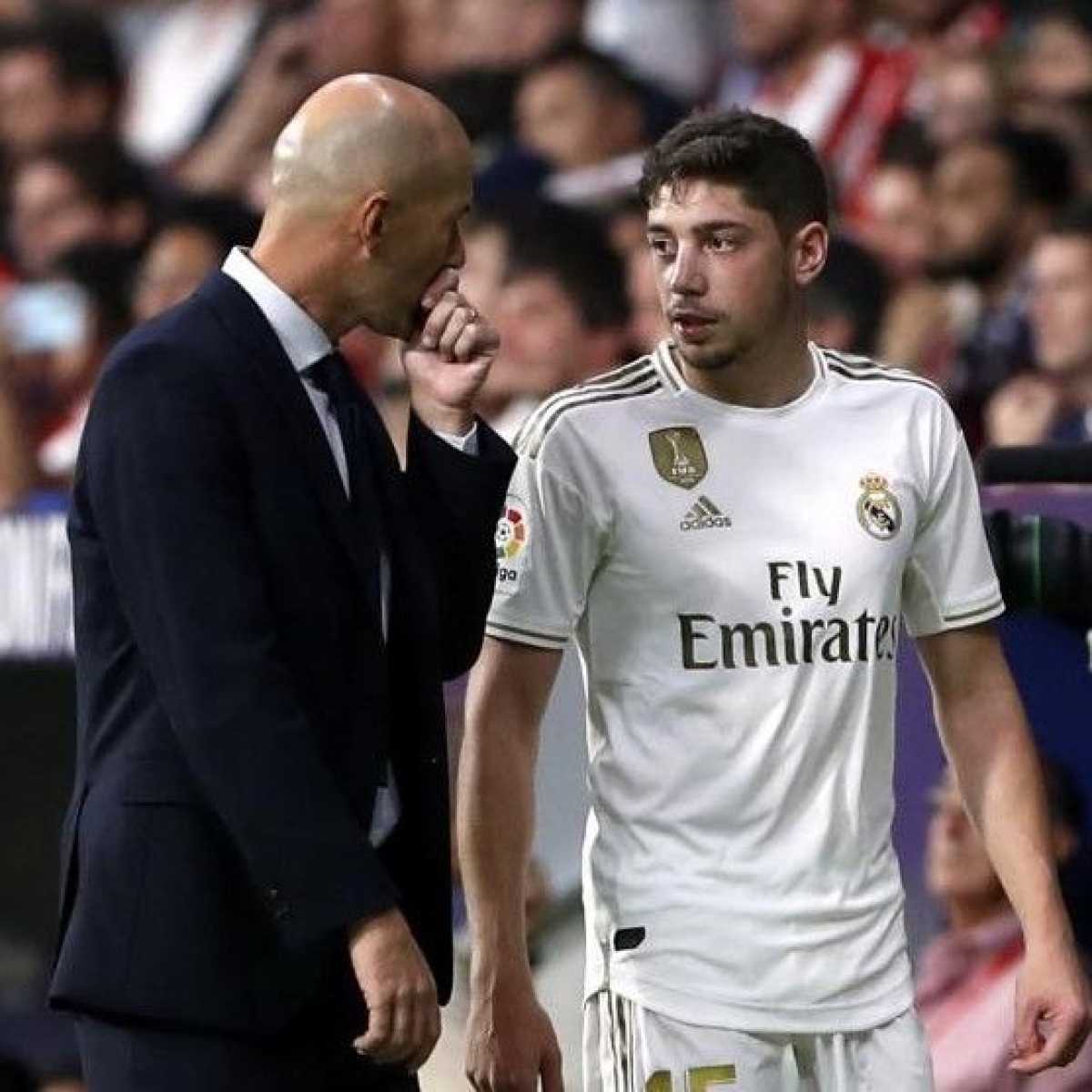 Uruguayan midfielder Federico Valverde credits legend Zinedine Zidane for helping him flourish at Real Madrid