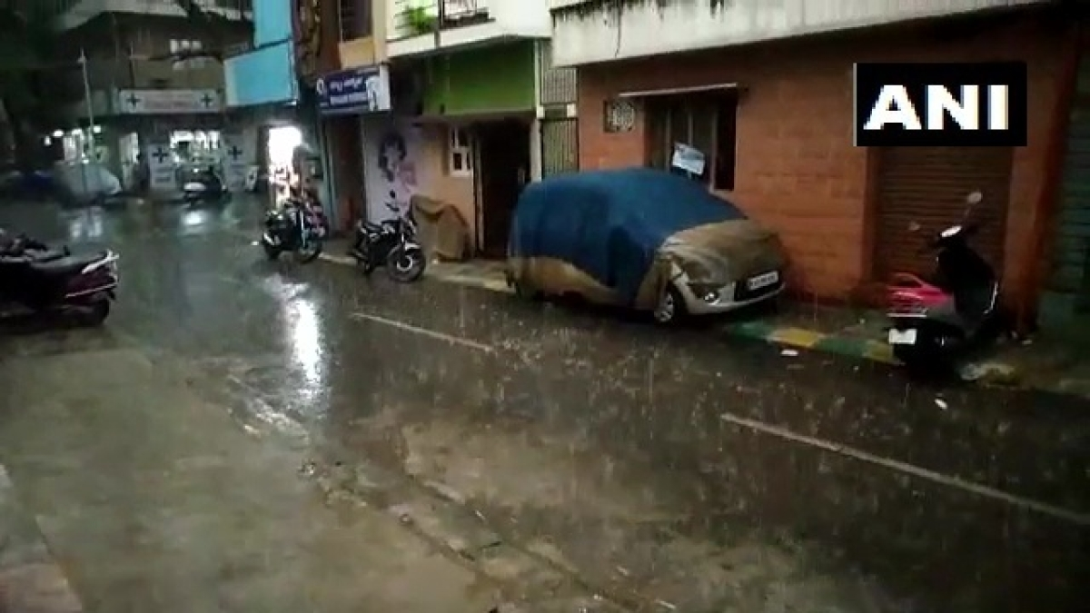 Bengaluru weather update: Rain lashes Karnataka's capital city