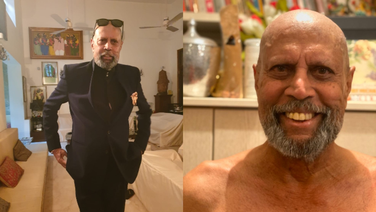 Kapil Dev's new bald chic finds a fan in Anupam Kher