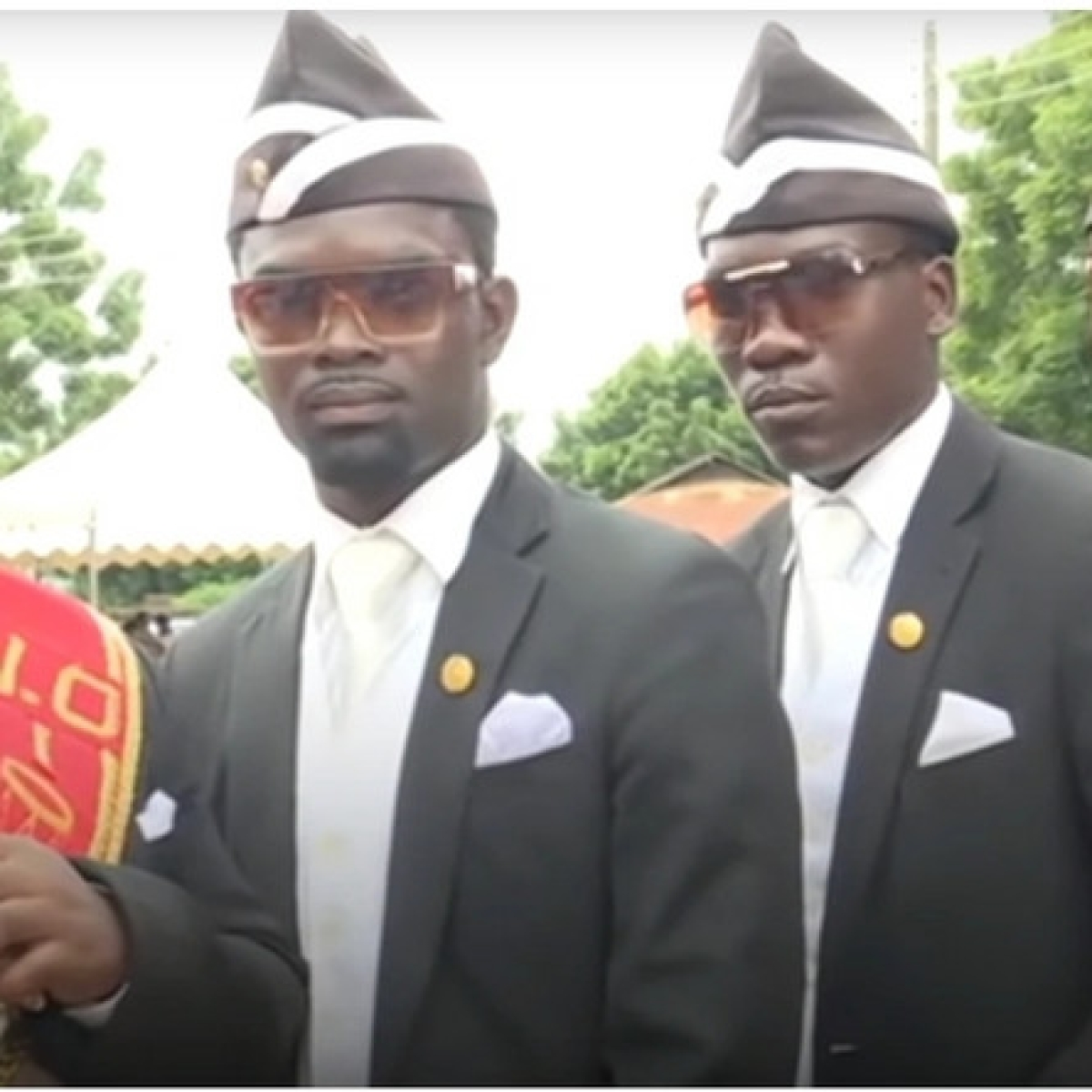 How you can download and use Ghanaian pallbearers' coffin dance filter on Instagram