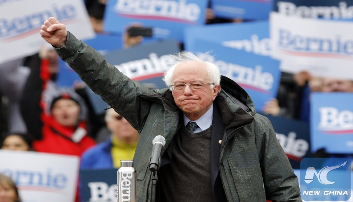 U.S. Democratic presidential candidate Sanders drops out, paves way for Biden's nomination