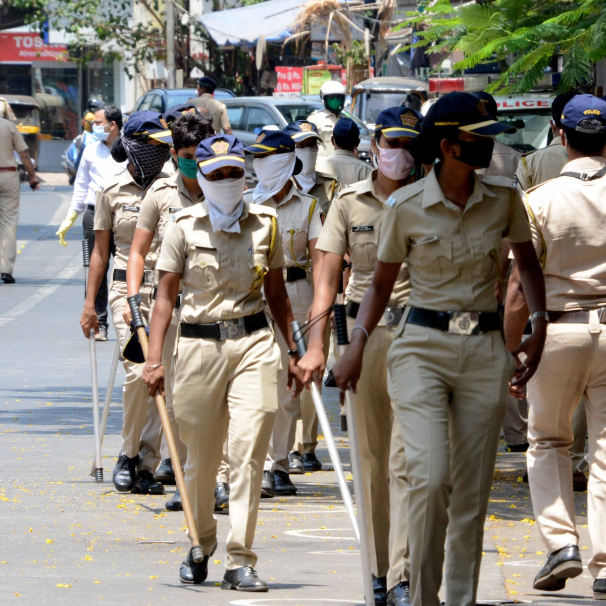 In Pics: Mumbai under coronavirus lockdown -- here's how the city looked on Saturday