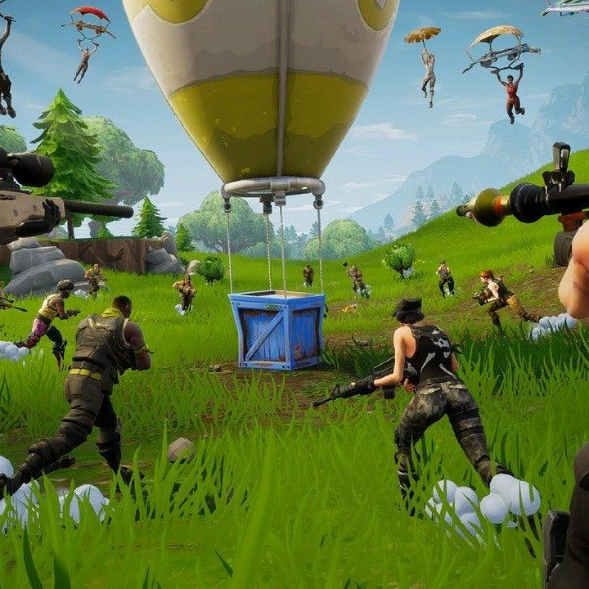 Fortnite finally lands in Google Play Store