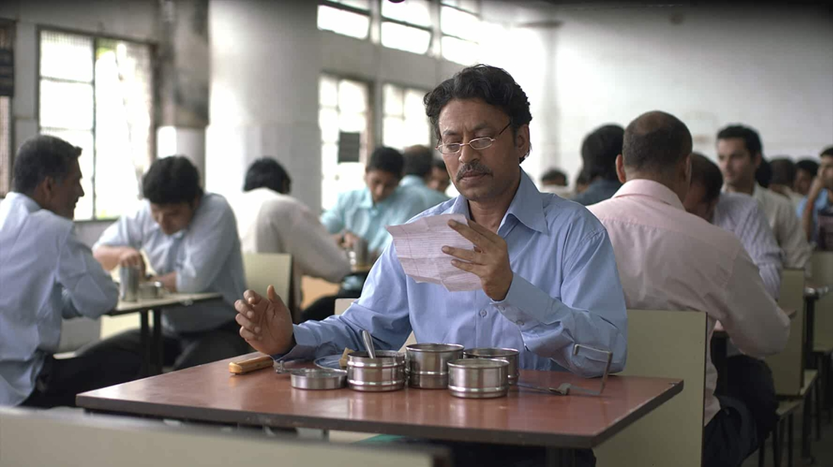 A still from the movie The Lunchbox