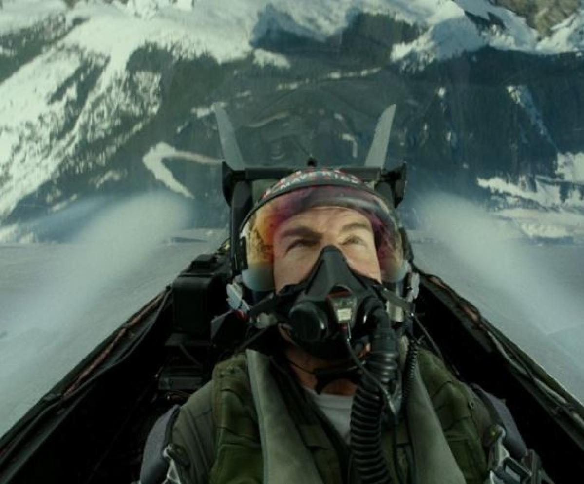 Tom Cruise in Top Gun: Maverick