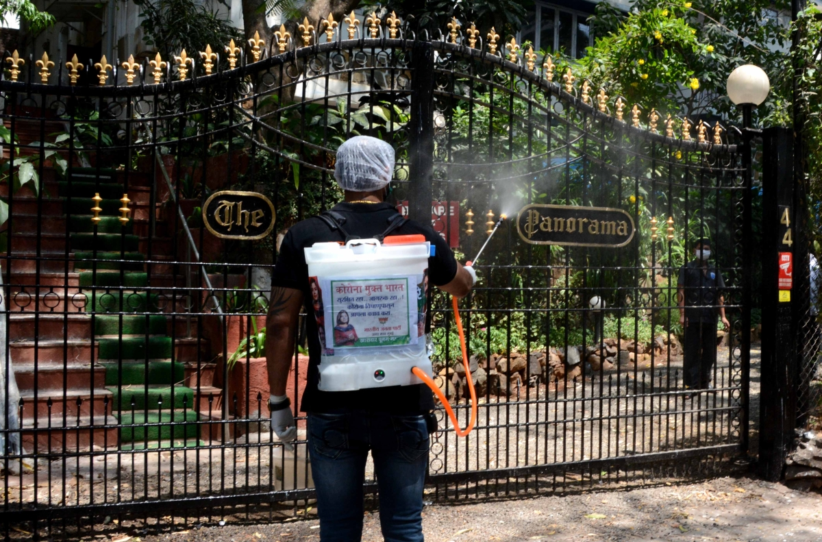 Coronavirus in Mumbai: BJP MP Poonam Mahajan  goes on disinfection spree even as civic body said no