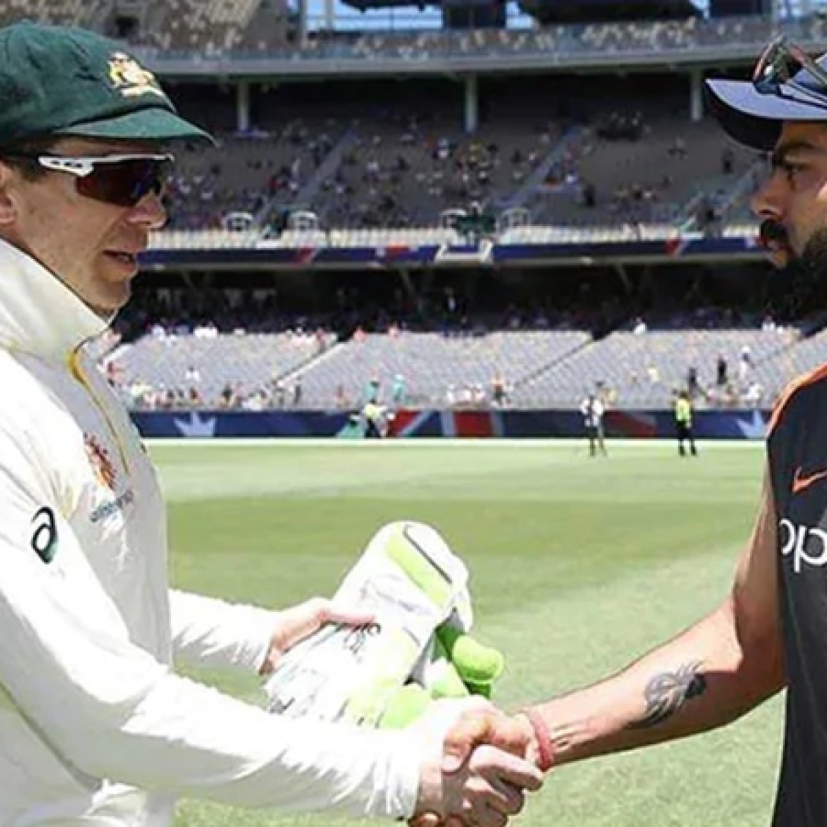 Certainly I didn't notice too many people being that nice to Virat Kohli or not trying to get him out: Tim Paine
