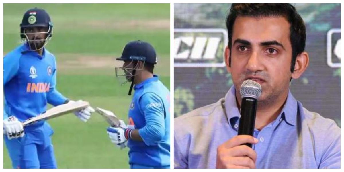 Gautam Gambhir picks KL Rahul as MS Dhoni's replacement for T20 World Cup