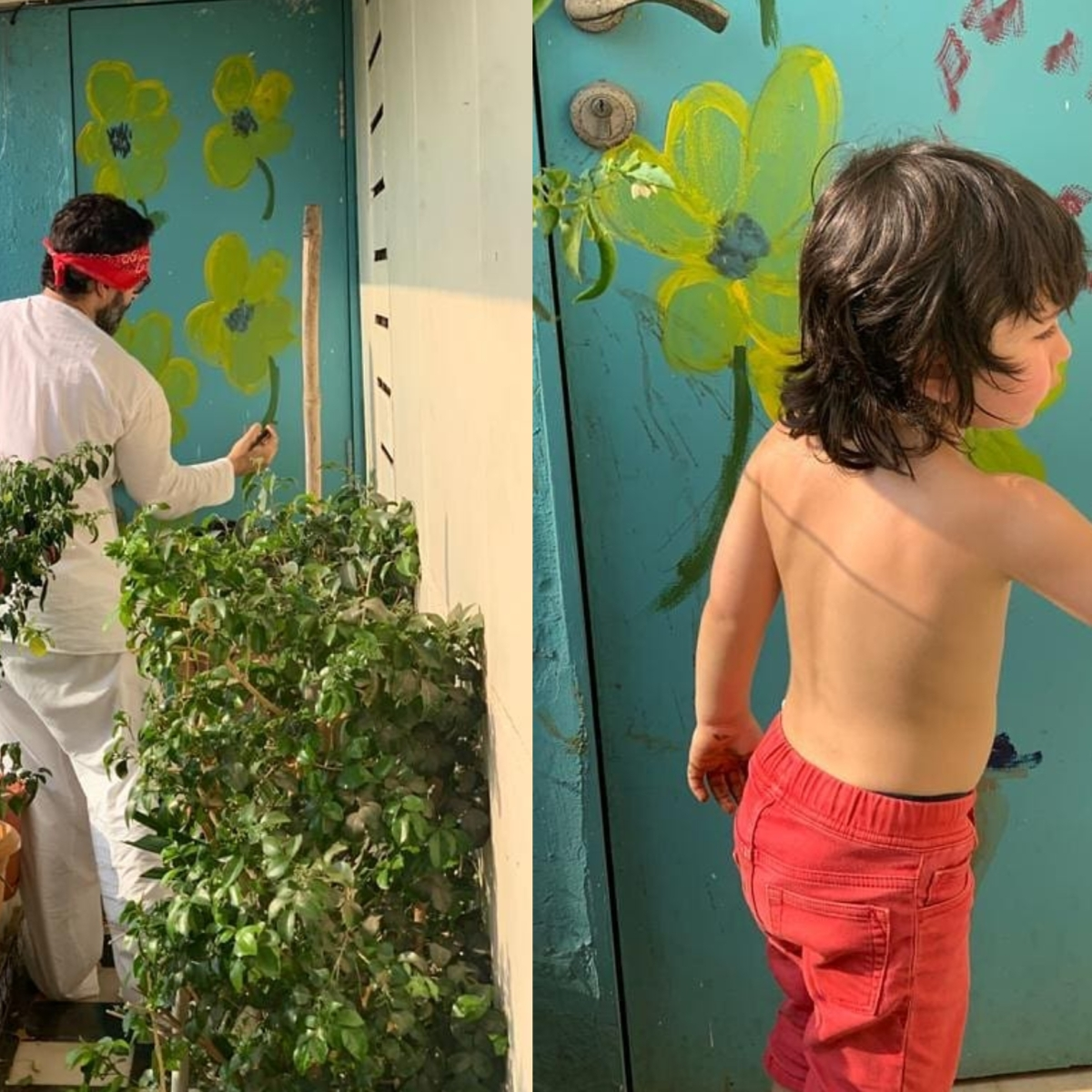 Kareena Kapoor receives special 'quarantine gift' from husband Saif, Taimur channels his inner Picasso