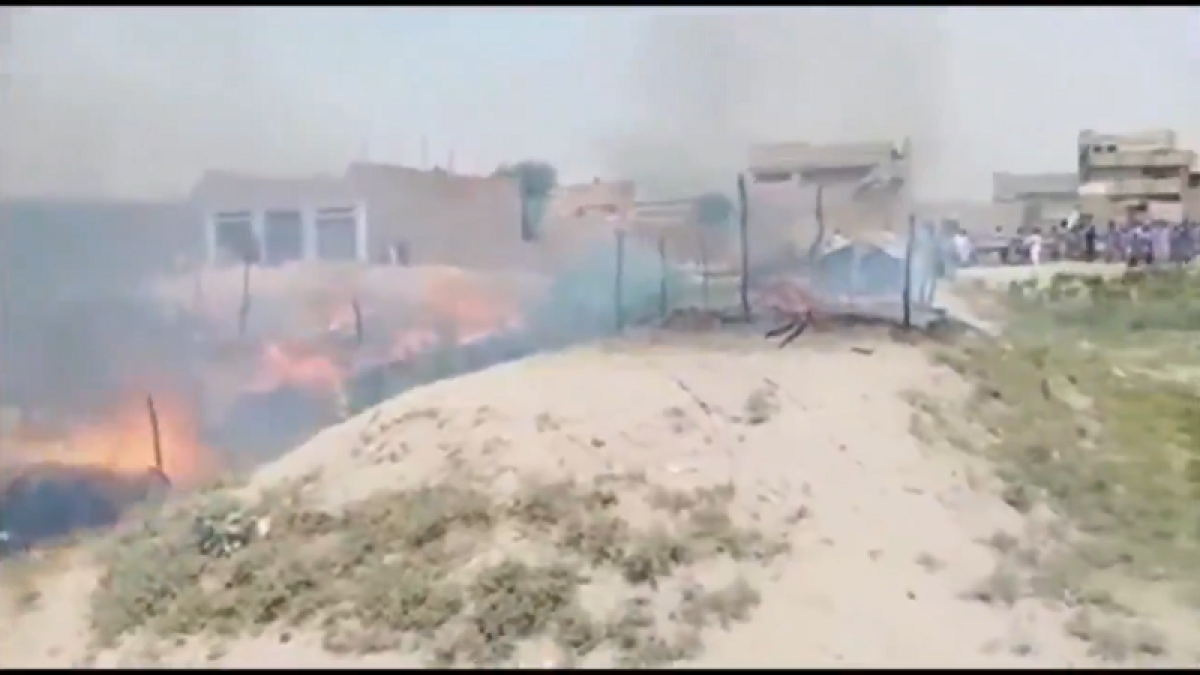 Watch: Minorities in Pakistan's Sindh brutally attacked and burnt alive by fundamentalists