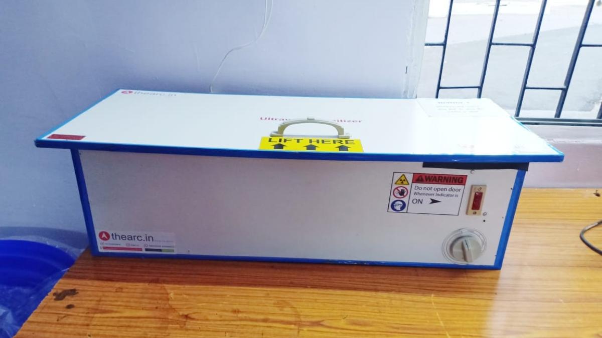 Ultraviolet Sanitizer Machine