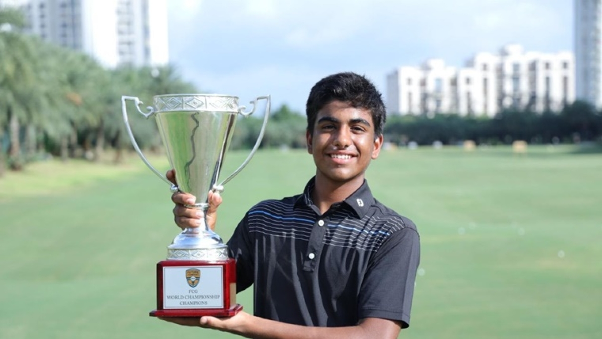 Junior World Golf Champion Arjun Bhati  sells trophies for Rs 4.3 lakh, donates money to PM Care Fund