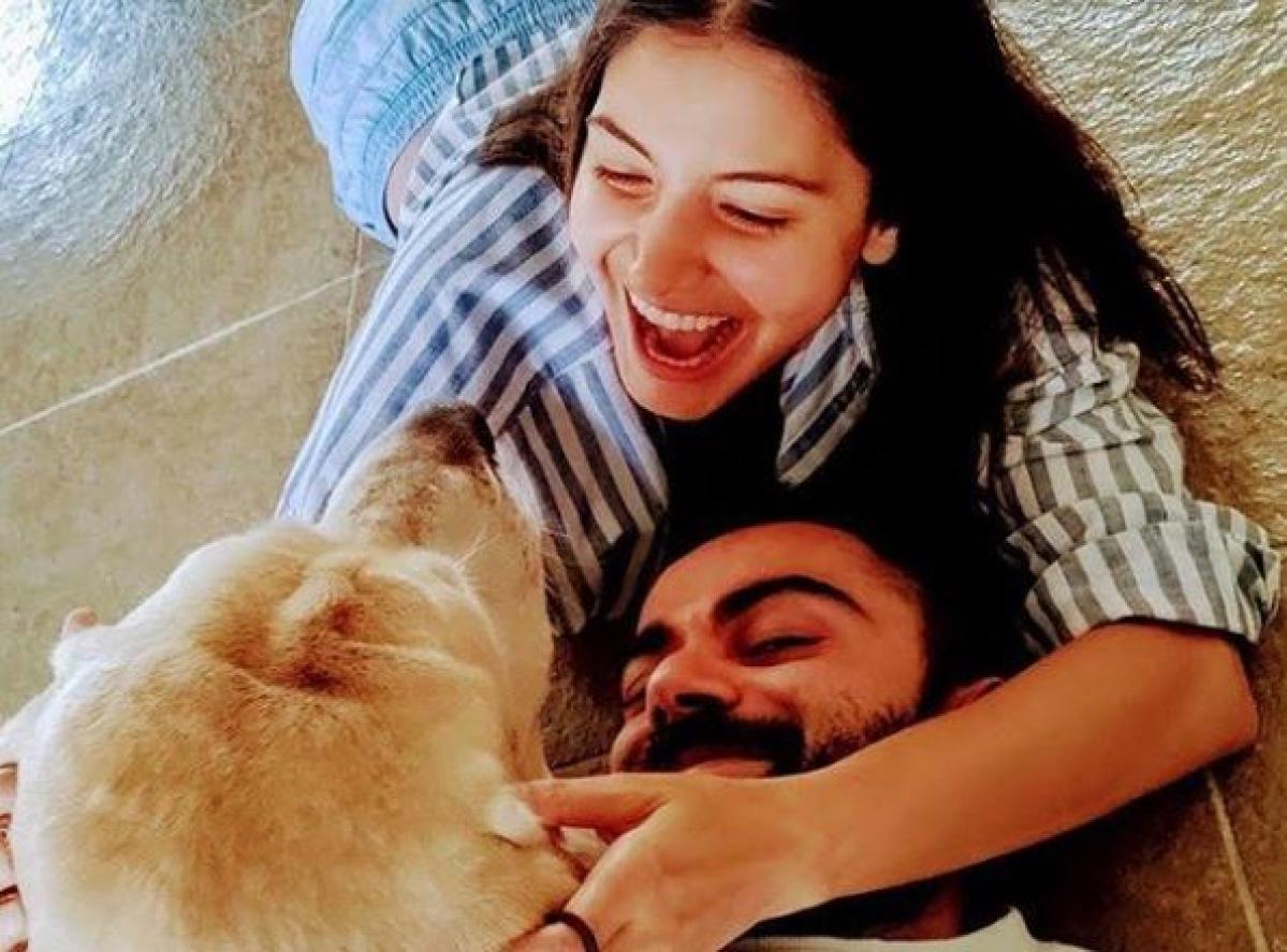 Anushka Sharma shares adorable family pic with Virat Kohli and their pet, pens down heartfelt post amid coronavirus lockdown