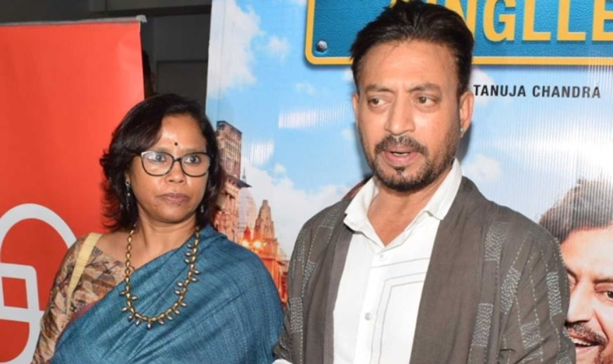 Who is Irrfan Khan's wife Sutapa Sikdar - his college sweetheart and film dialogue writer