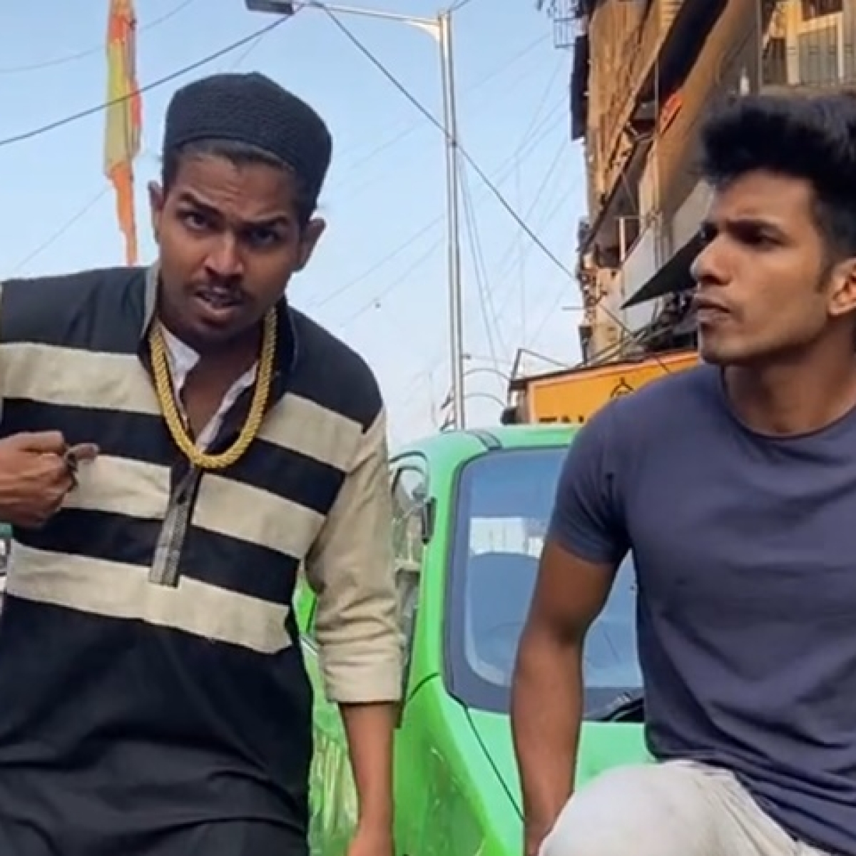 Mumbai Crime: Youth dares cops in tiktok video, get booked